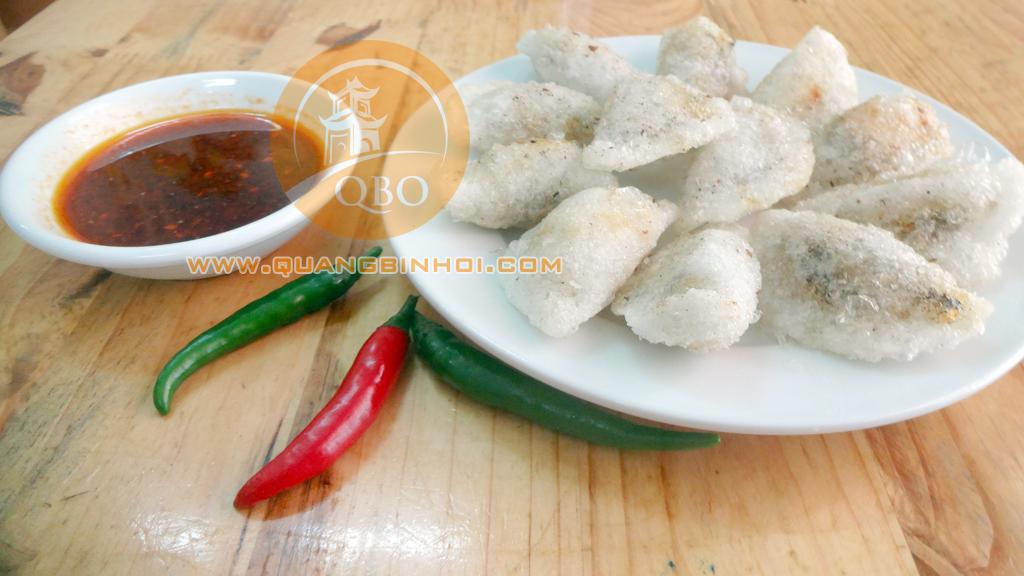 Bánh lọc rán, bánh lọc trần Quảng Bình tại Quảng Bình Ơi